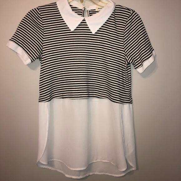Monteau Tops - *3 for 25$*Collard T-shirt